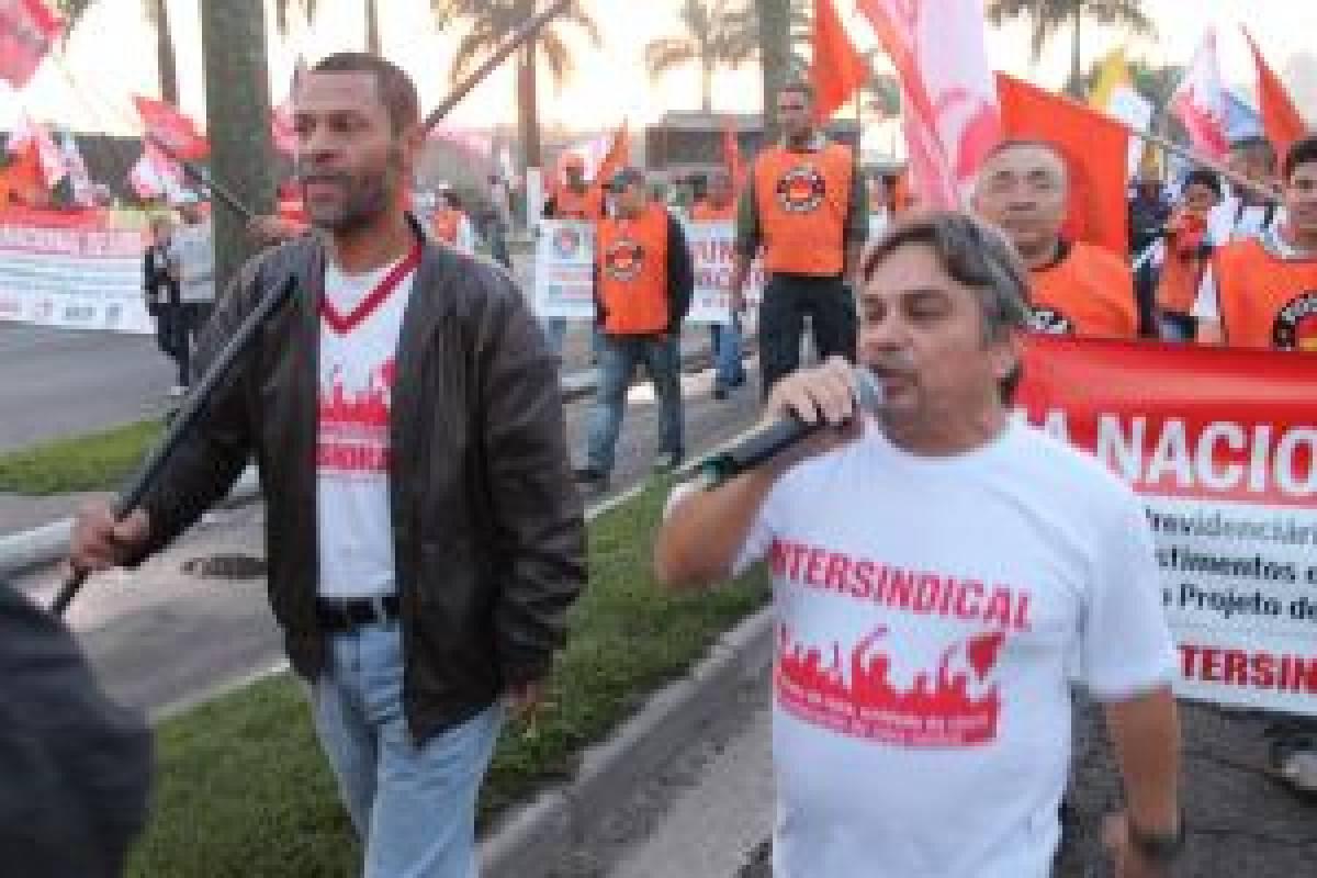 Greve Geral: Trabalhadores paralisaram Baixada Santista!