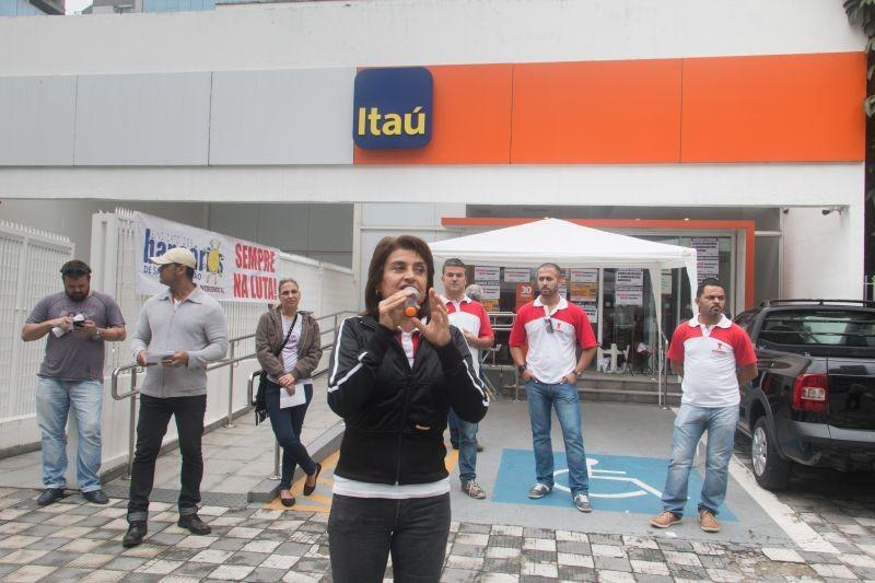 Agências do Itaú paralisadas contra demissões