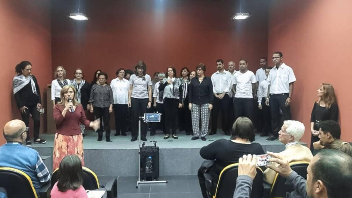 Coral do Sindicato faz últimas apresentações de 2016