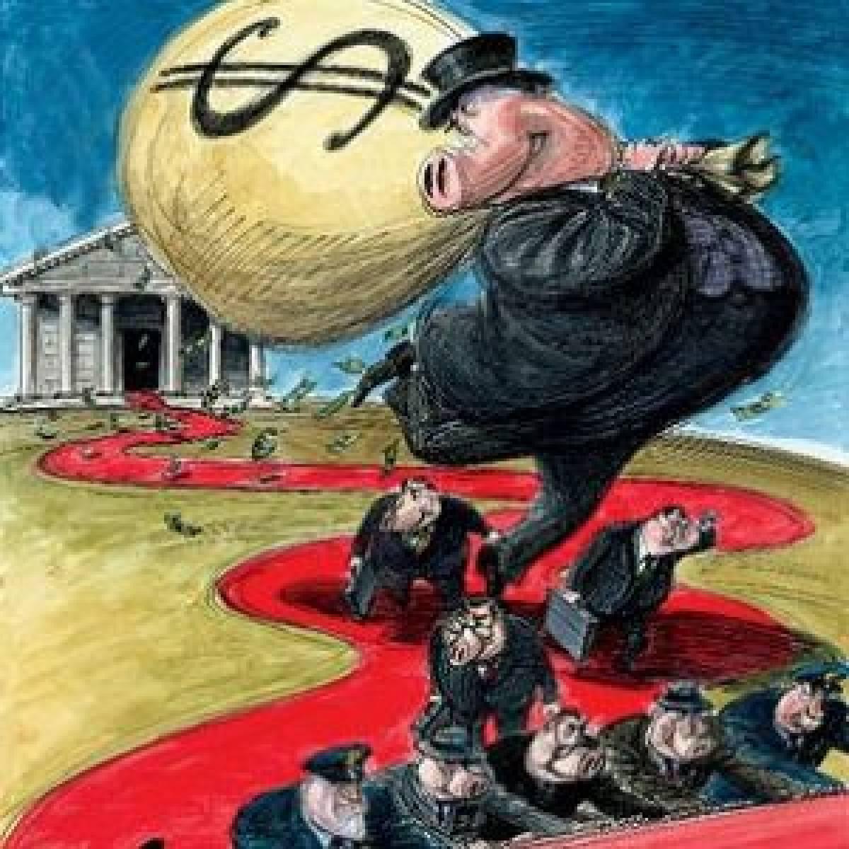 O crime organizado pelos banqueiros