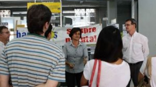 Bancários protestam contra práticas antissindicais e discriminações do BB