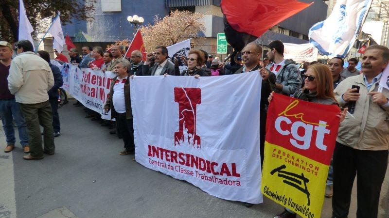 Intersindical denuncia terceirização no Brasil durante Congresso no Chile