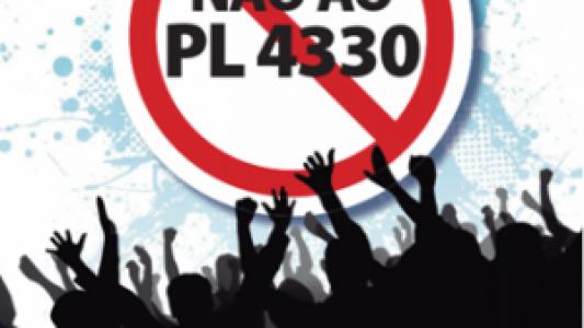 Intersindical e centrais marcam protestos dia 06, contra a terceirização