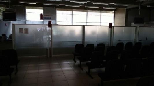 Santander em São Vicente não tem condições de trabalho
