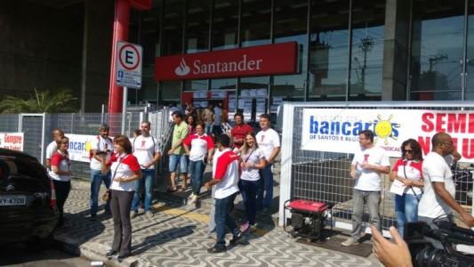 Superintendente do Santander quer reduzir empregos em nome do lucro