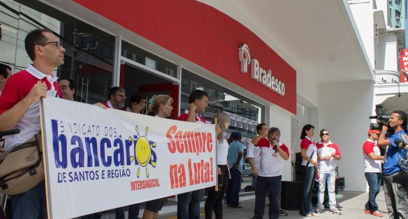 Sindicato exige que Bradesco pare de assediar bancários