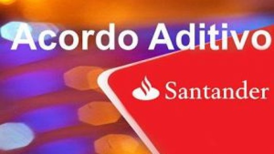 Negociação sobre aditivo continua nesta sexta com Santander