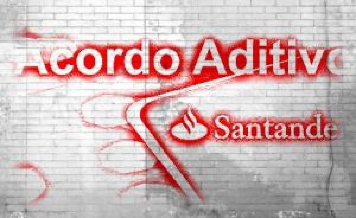Santander: bancários renovam único aditivo com banco privado