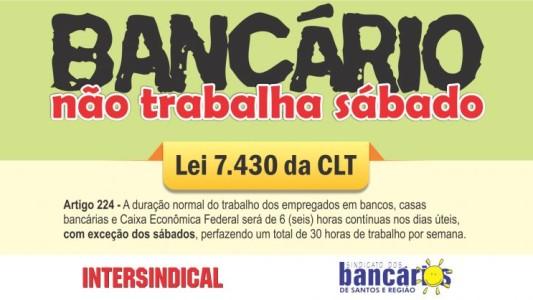 Sindicato garante direitos na fusão de agências do Santander