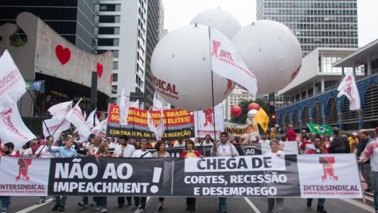100 mil contra o Impeachment, o Ajuste Fiscal e pelo Fora Cunha
