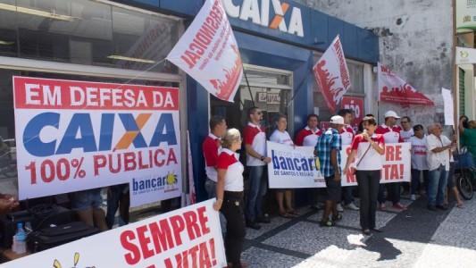 85,4% dos empregados promovíveis da Caixa garantiram pelo menos um delta