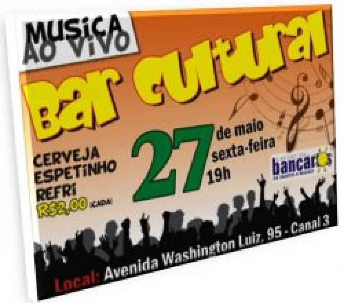 Imperdível: Bar Cultural