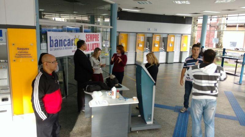 BB de São Vicente é paralisado por falta de condições de trabalho