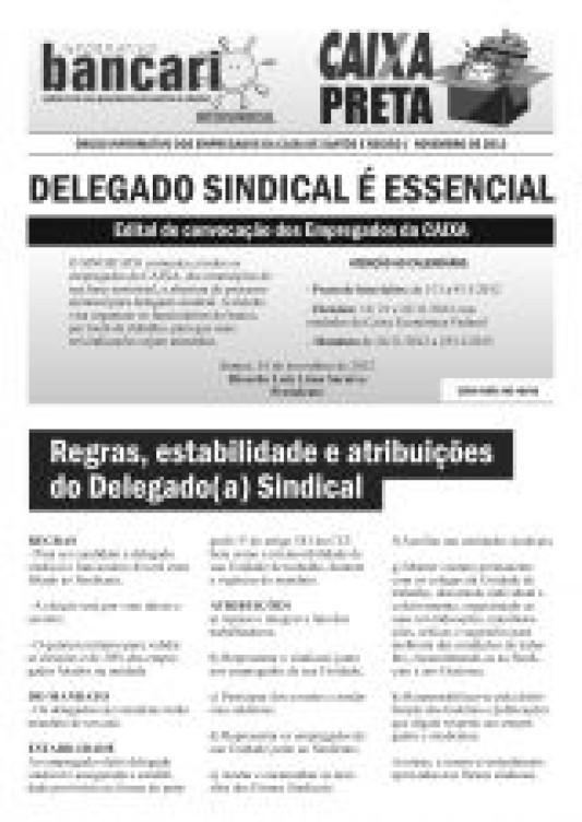 Delegado sindical é essencial - Eleição