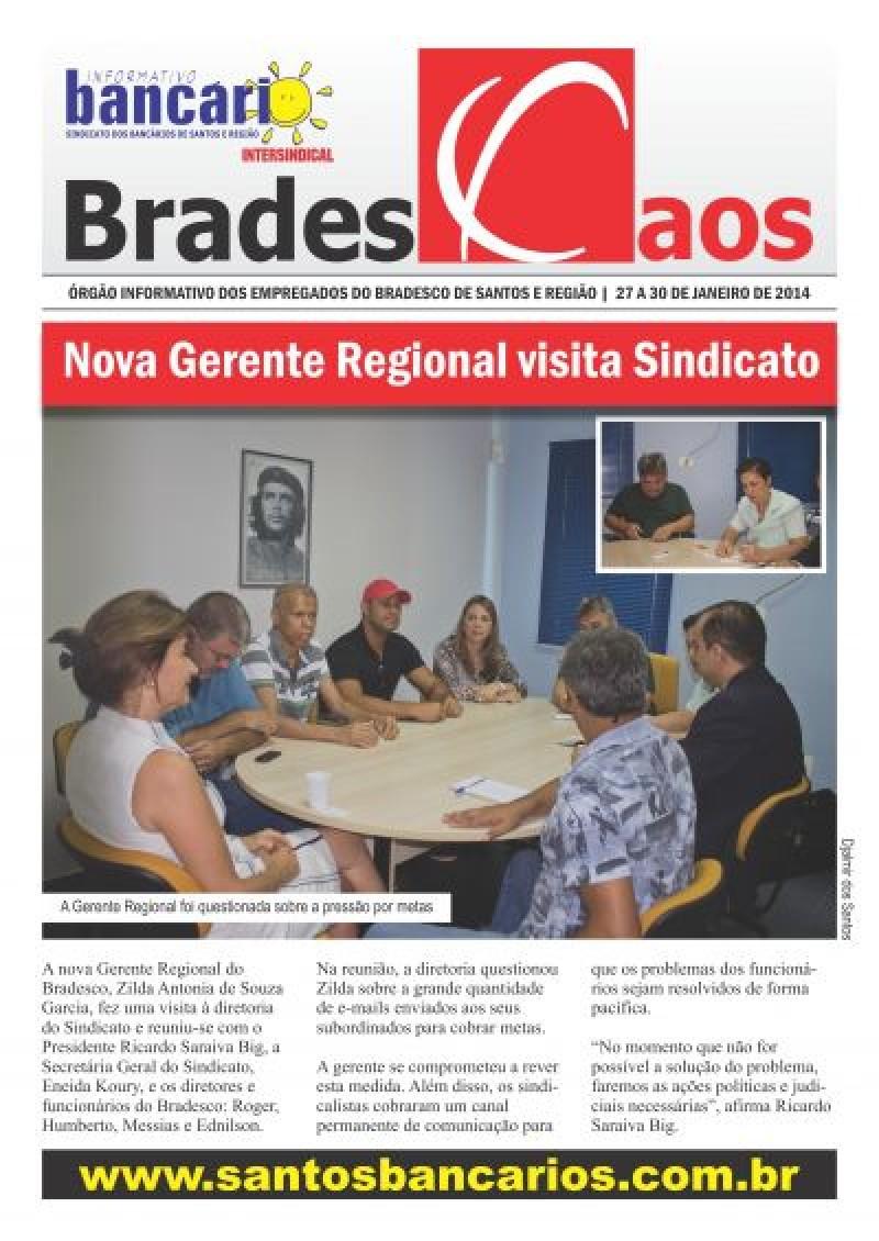 Nova Gerente Regional visita Sindicato