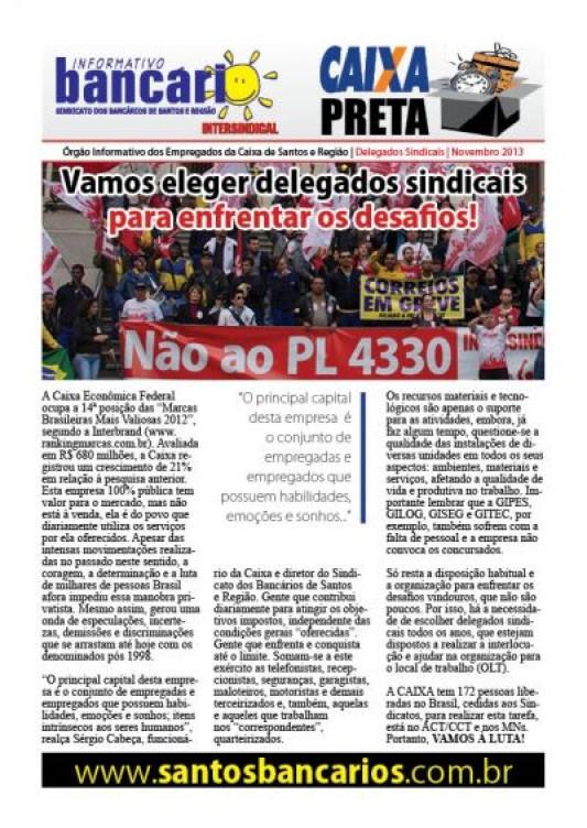 Vamos eleger delegados sindicais para enfrentar os desafios!