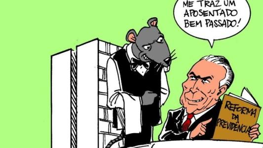 Reforma previdenciária presenteia os banqueiros