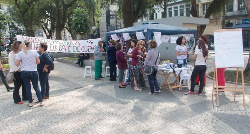 Coletivo lança Campanha Contra Violência às Mulheres