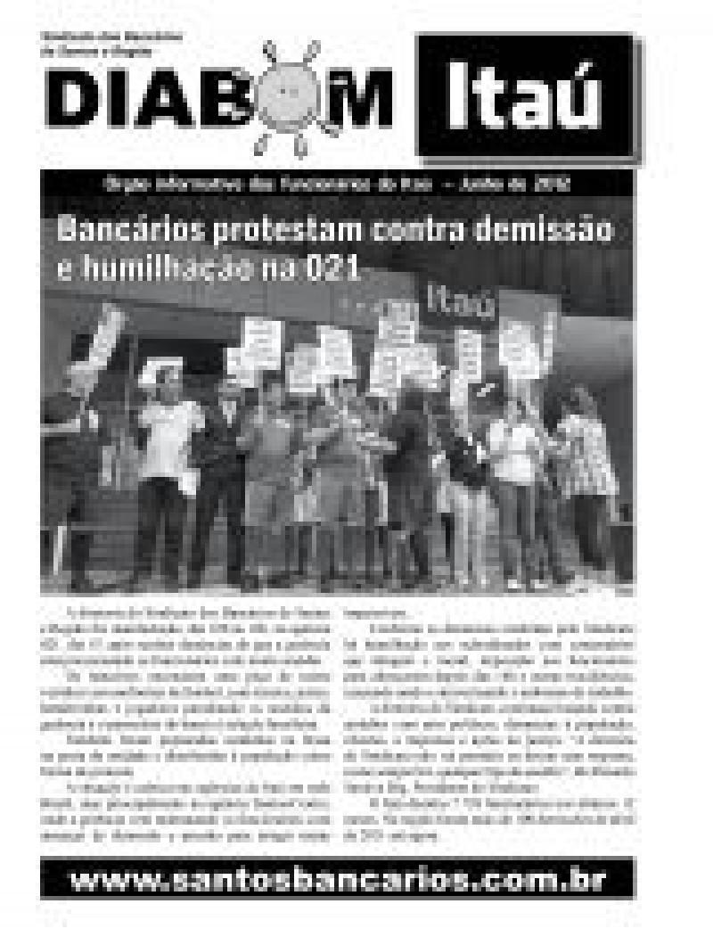 Bancários protestam contra demissão e humilhação na 021
