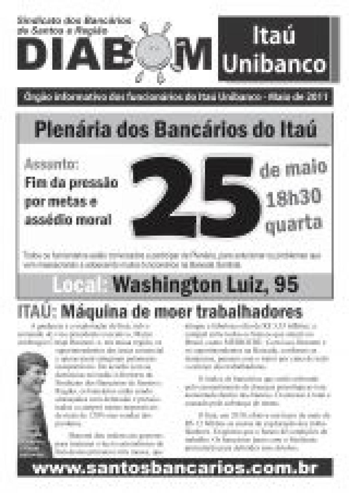Plenária dos bancários do Itaú