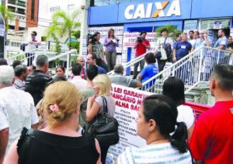 Caixa: Bancário não trabalha sábado