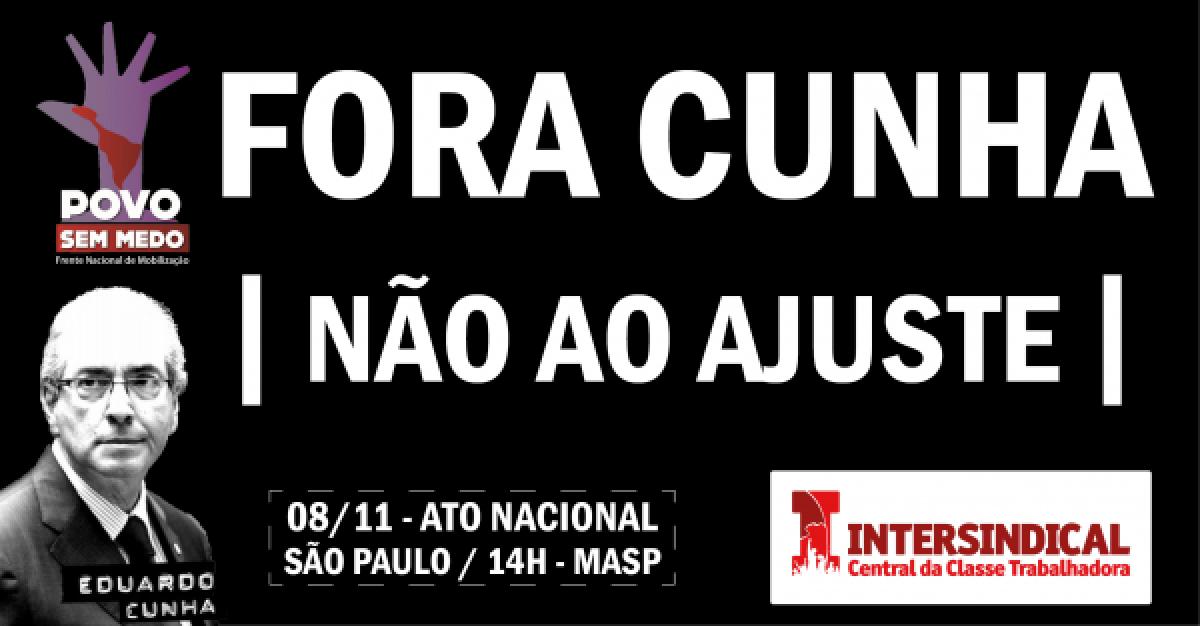 Todos e todas às ruas neste domingo, 8, em São Paulo e diversas cidades!