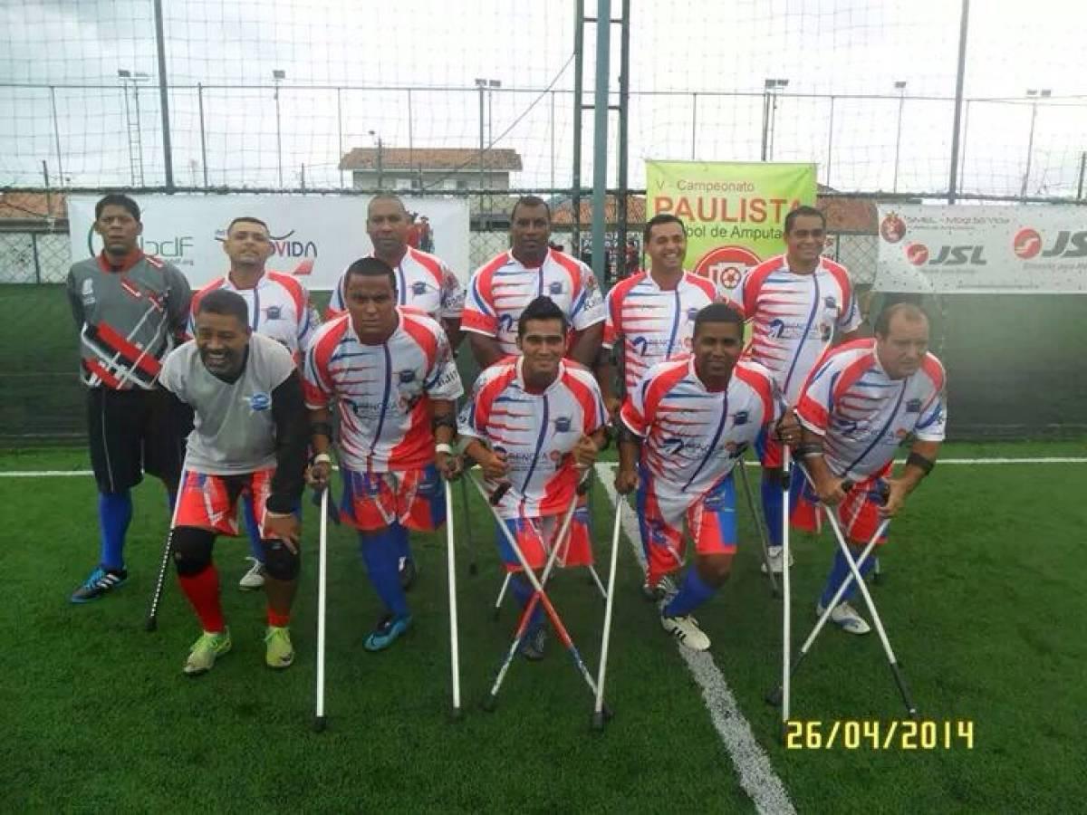 Finais do Torneio Soçaite dos Bancários terão partida de futebol adaptado