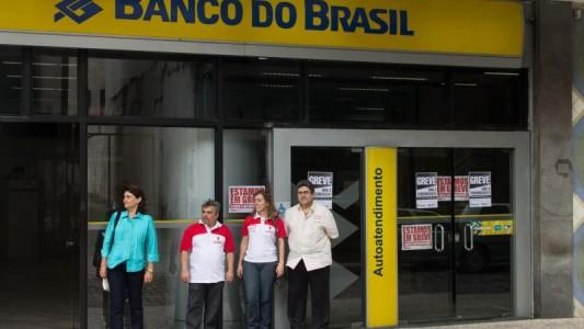 Greve dos bancários começa forte na Baixada Santista