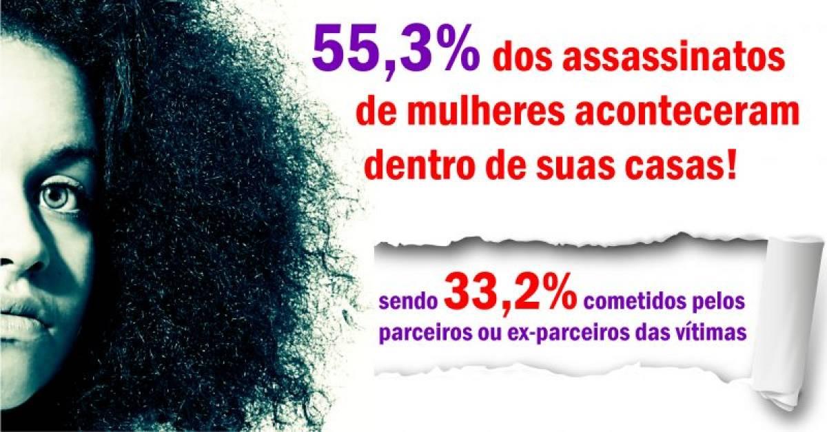 Homicídios de mulheres negras aumentam 54% em 10 anos, mostra estudo