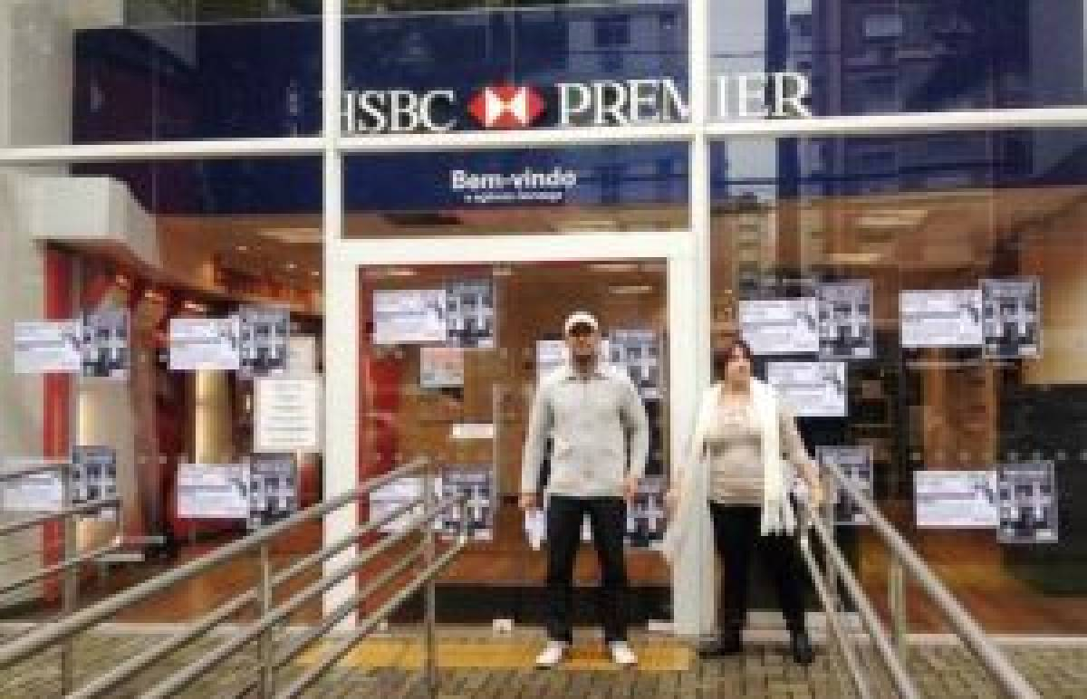 Dia Nacional de Luta no HSBC