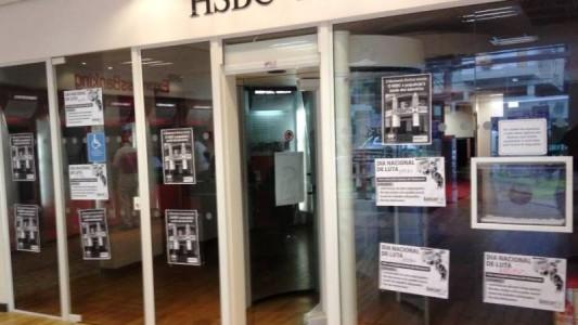 Bancários exigem reunião com o HSBC, sobre o não pagamento da PLR
