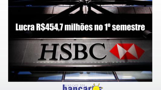 Lucra R$ 454,7 milhões no 1º semestre