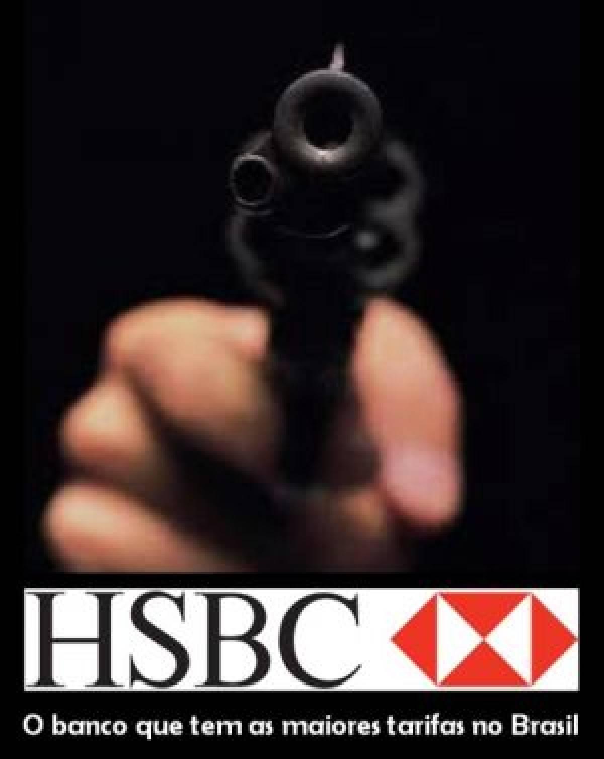 HSBC é campeão de cobrança de tarifas altas, aponta levantamento