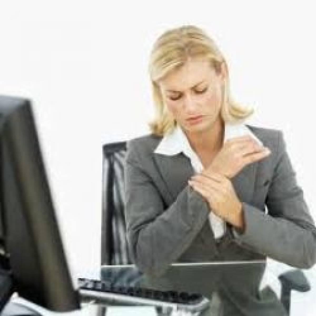 Mulheres são 80% dos casos de LER/DORT