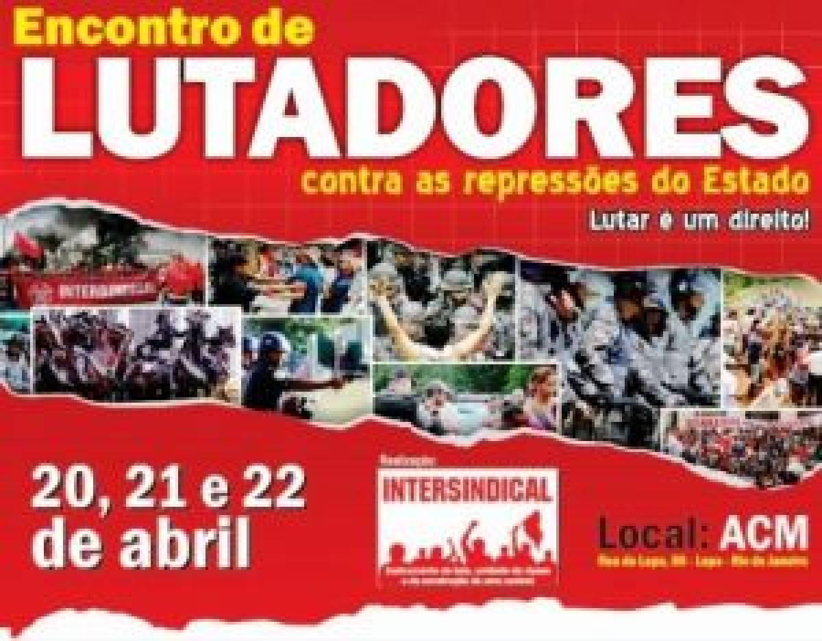 Bancários de Santos e Região participam Encontro Nacional de Lutadores contra a repressão do Estado