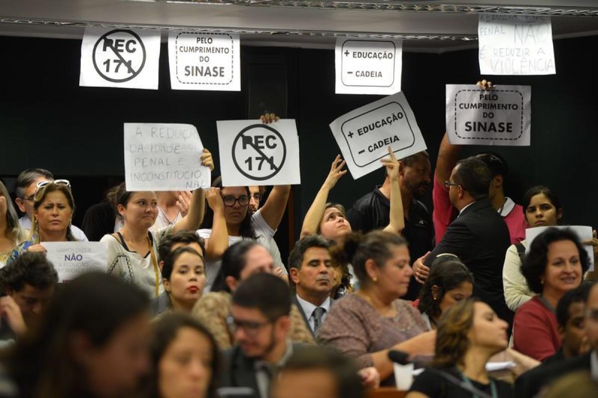 Câmara debate maioridade penal na próxima semana