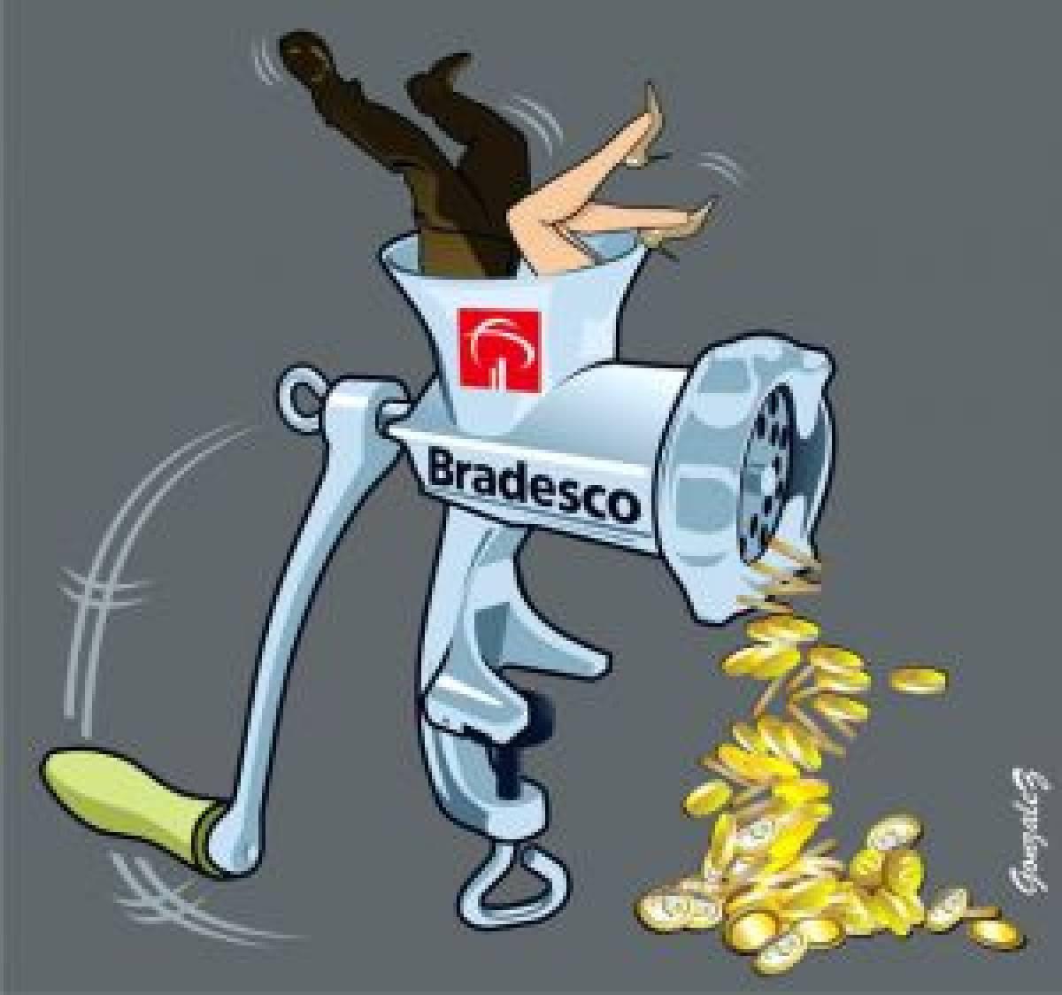 Mudança nos vales do Bradesco dificultam vida dos bancários