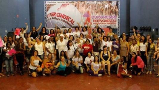 Mulheres da Intersindical : Nenhum golpe nos calará!
