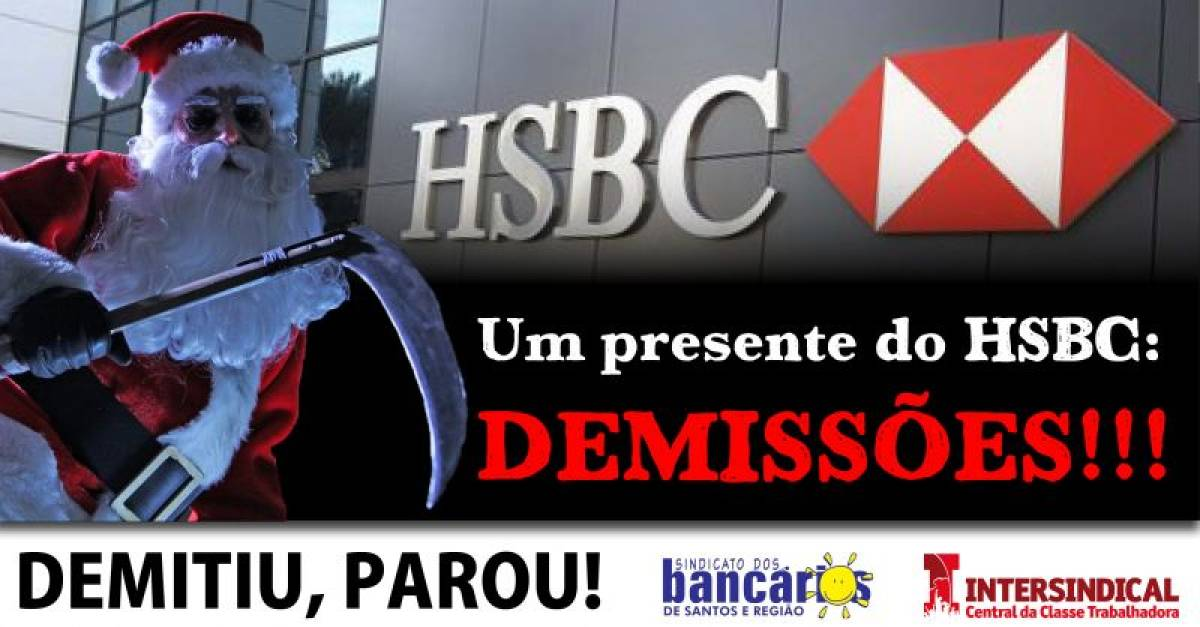 HSBC: Demitiu, Parou!