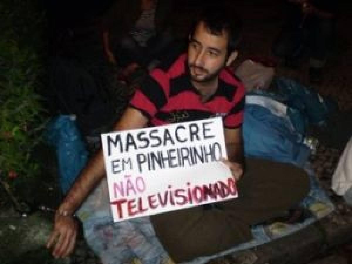 A greve de fome que a TV Globo não mostra