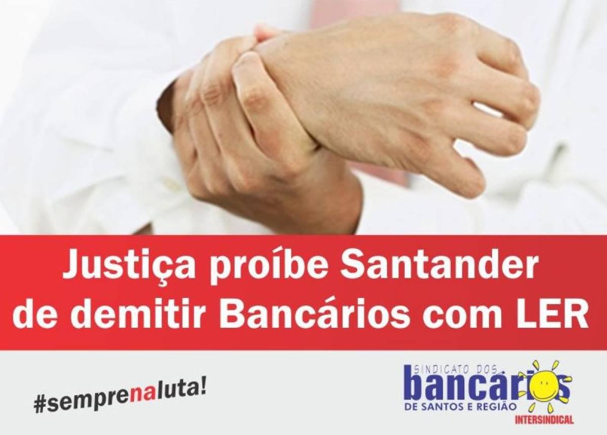 Banco está proibido de demitir bancário com LER