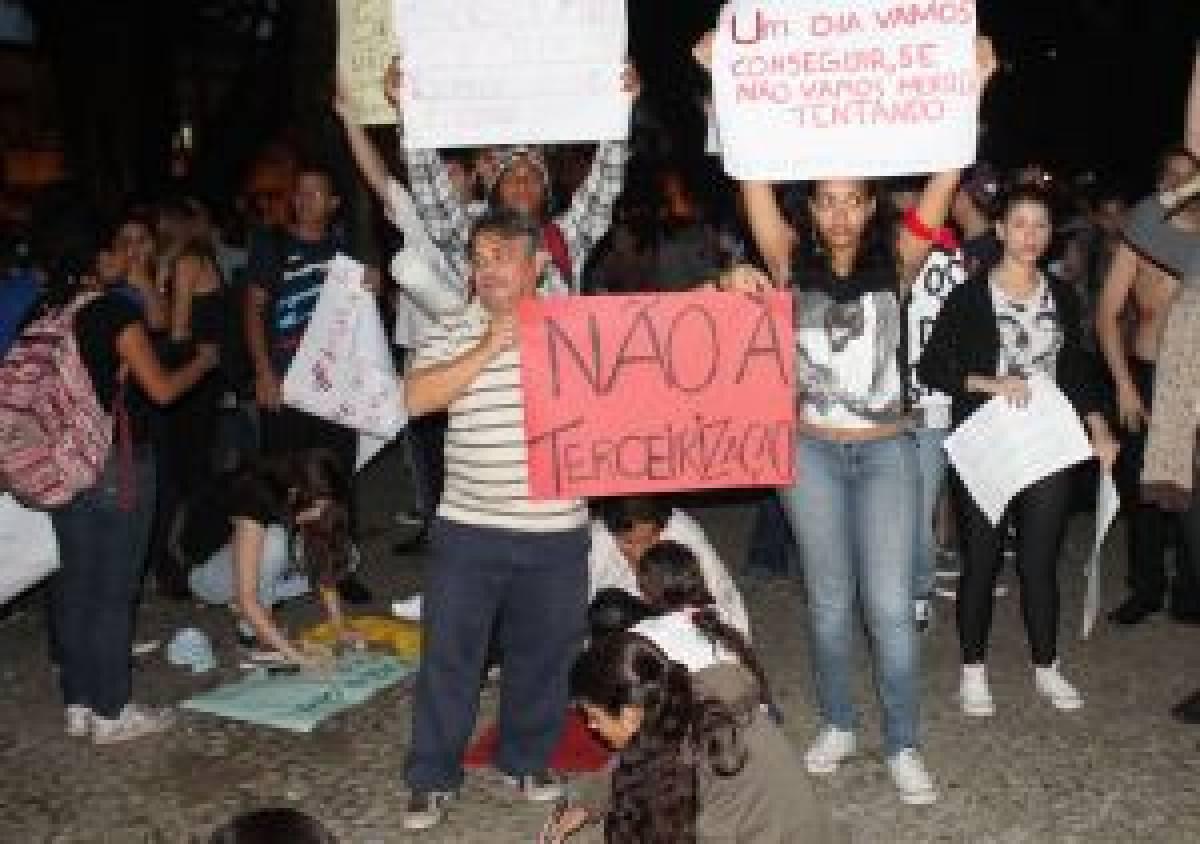 GREVE: Bancários farão mobilização nacional contra PL 4330 dia 4 de julho