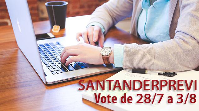 Eleições SantanderPrevi: Saiba como votar pela internet