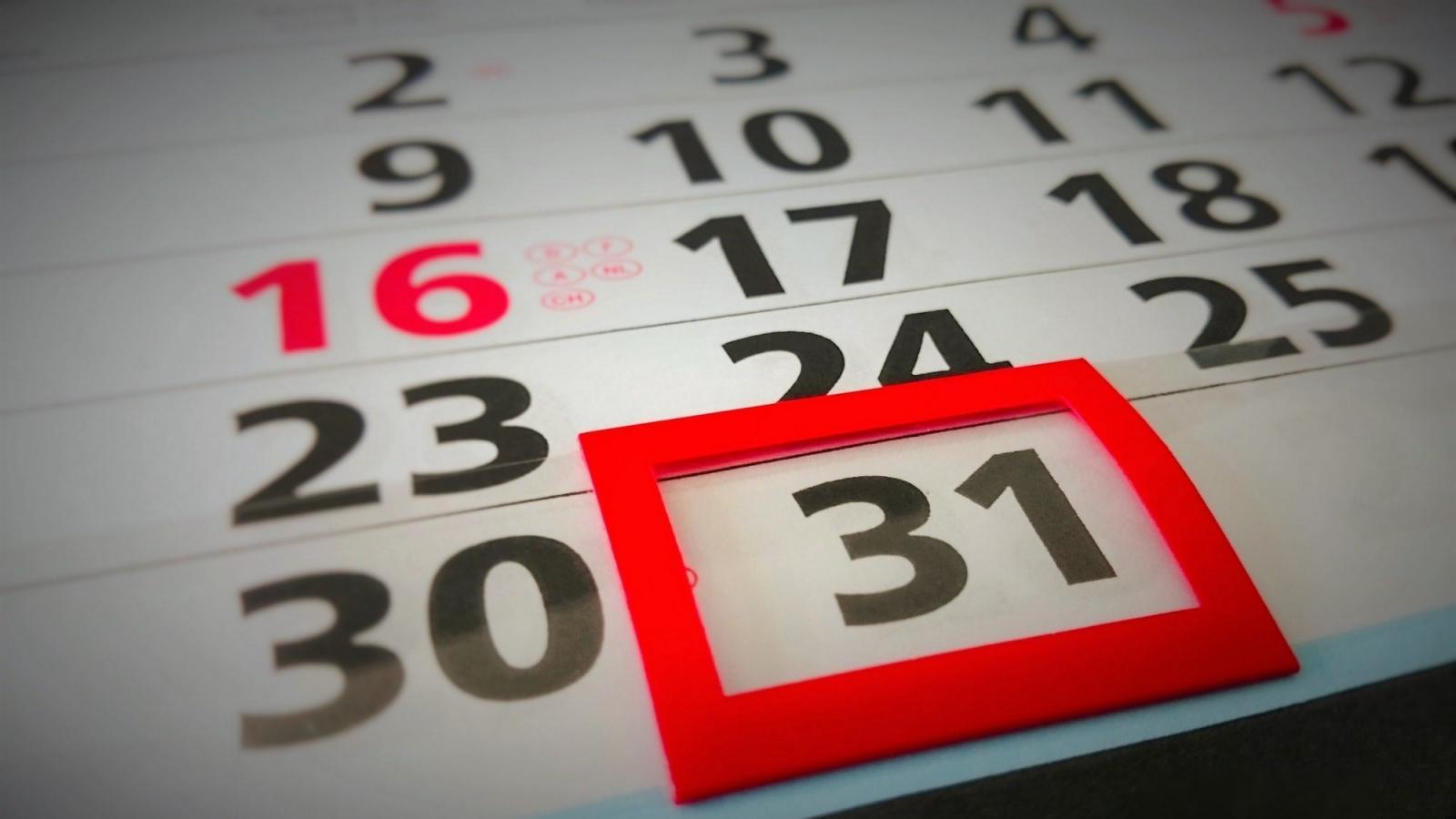 Conheça a lista de feriados e pontos facultativos em 2018