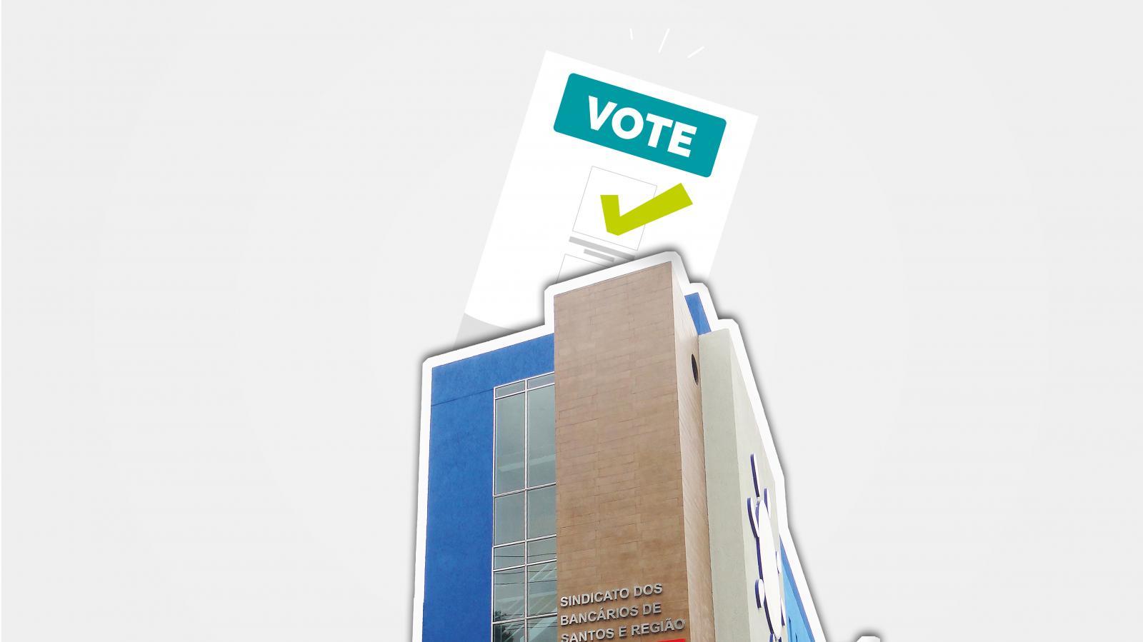 Eleições dias 7 e 8 de novembro para nova diretoria do Sindicato