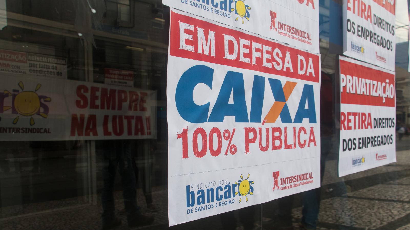Novo presidente da Caixa confirma privatização fatiada do banco