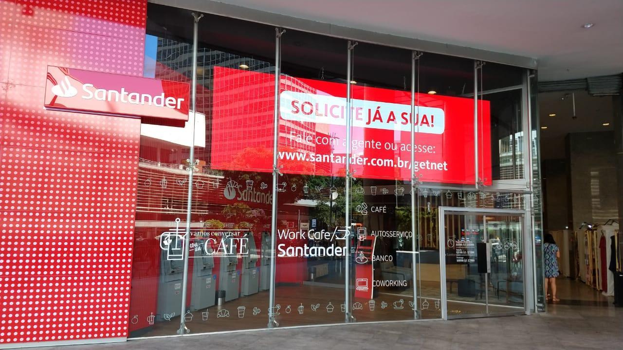 Queremos o fim dos problemas, Santander!