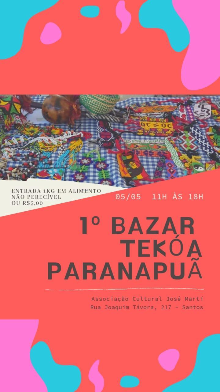Bazar Solidário - Tekóa Paranapuã