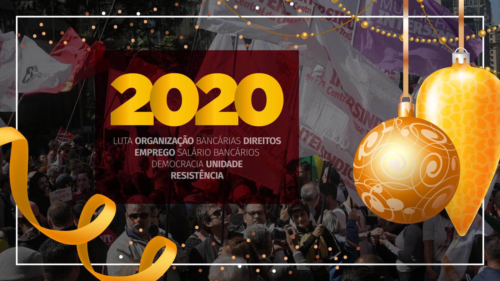 Mensagem de Natal e Ano Novo 2019-2020