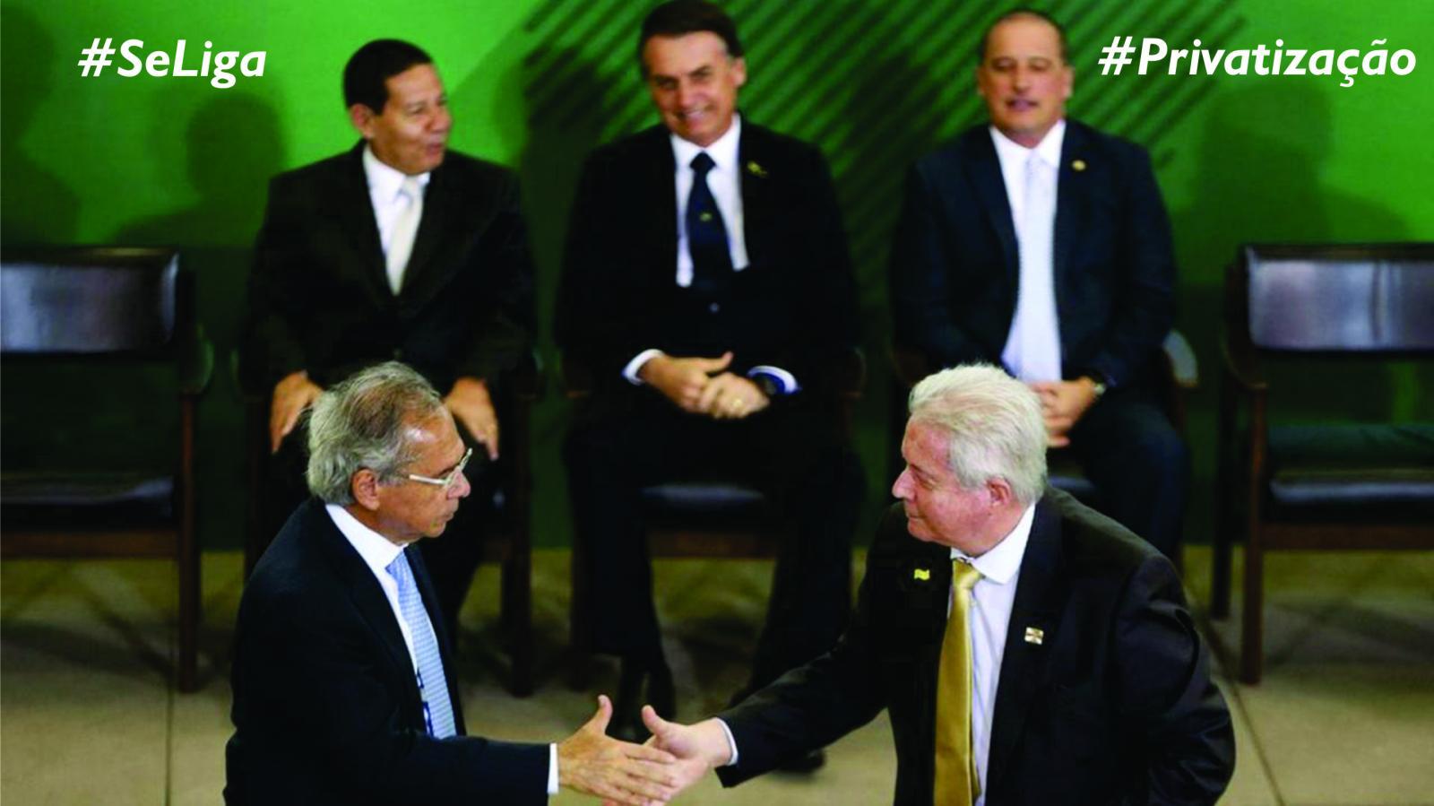Para o presidente do Banco do Brasil, privatização é fácil